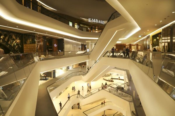 central embassy, mall, store