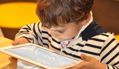 child, tablet, technology