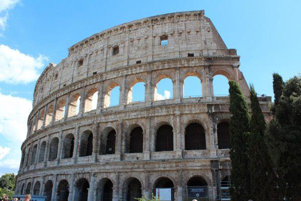 colosseum, rome, buildings