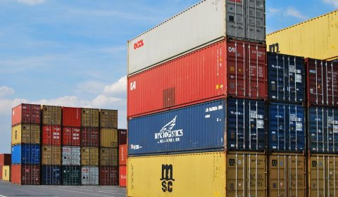 dock, container, export