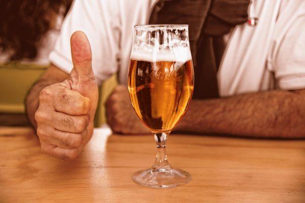 pahar de bere, pub