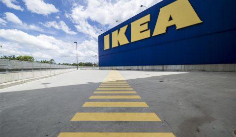 ikea, building, warehouse