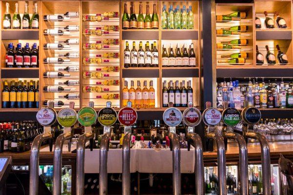pub, bar, drink