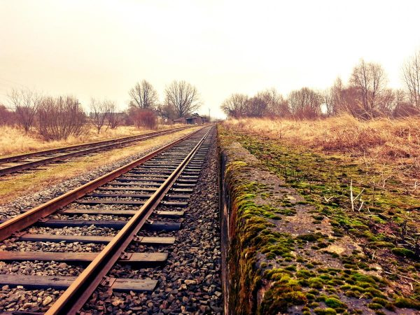 rail, railway, train tracks