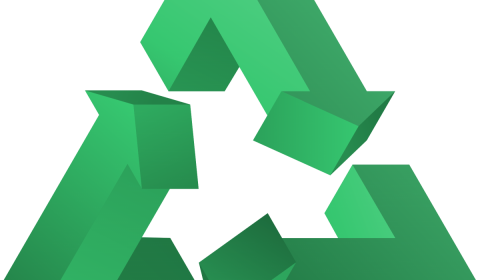 recycle, triangle, symbol