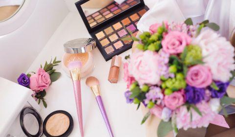 bouquet, eyeshadow, makeup