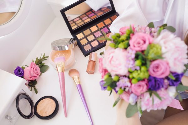 bouquet, eyeshadow, makeup
