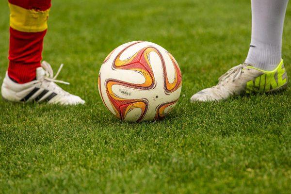 football, duel, ball