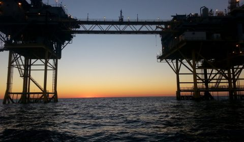 gulf, natural gas rig, offshore
