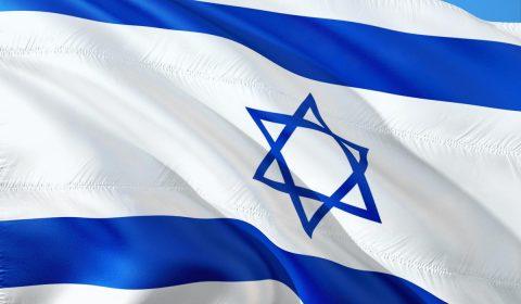 international, flag, israel