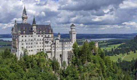 neuschwanstein castle, castle, kristin