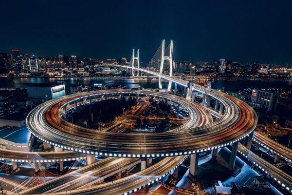 city, shanghai, china
