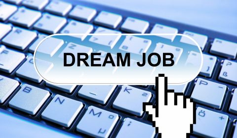 dream job, application, online