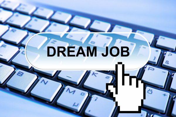 dream job, application, online