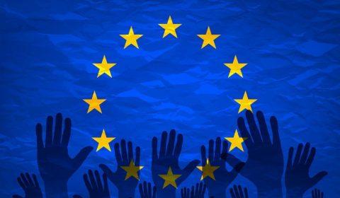 European Union Flag Voters