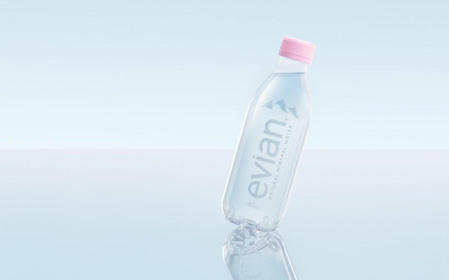 Evian Label Free Bottle