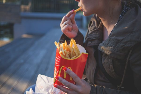 french fries, fast food, mcdonald's