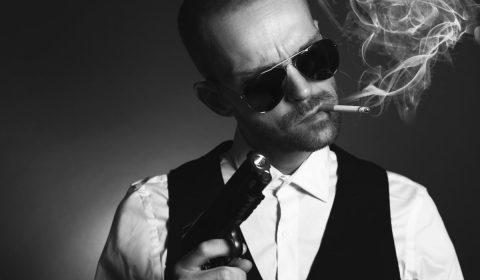 gangster, man, mafia