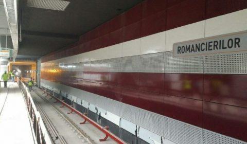 Metrou Statie Romancierilor