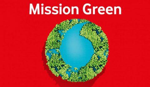 Mission Green Logo Vodafone