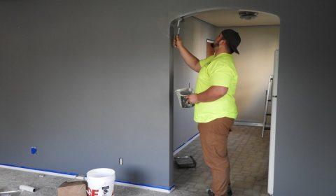 painter, paint, house