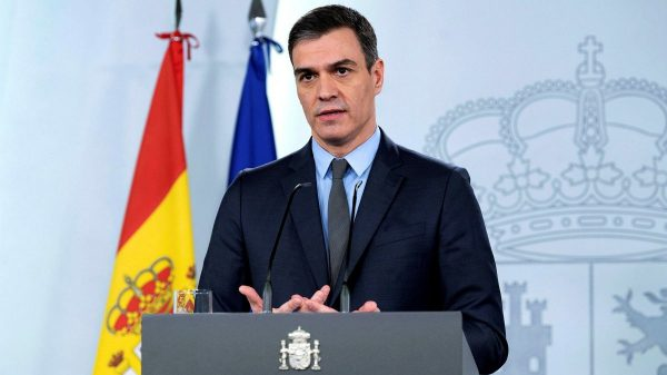 Pedro Sanchez Premier Spania