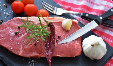 steak, rumpsteak, raw