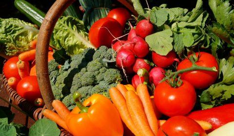 vegetables, vegetarian, tomatoes