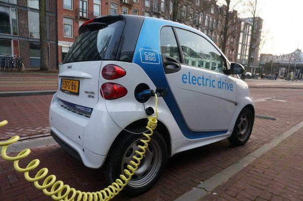 amsterdam, smartcar, electric car