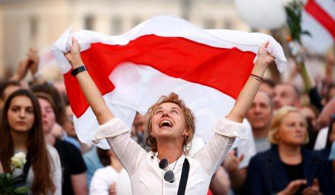 Belarus Protestatar