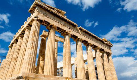 greece, palace, parthenon