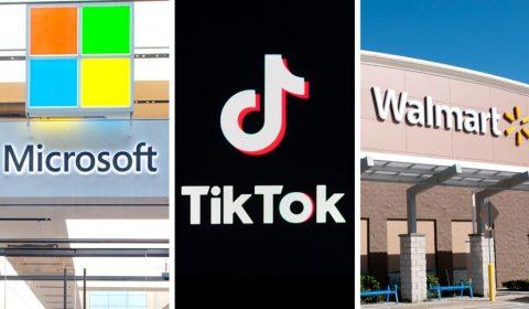 Microsoft Tiktok Walmart