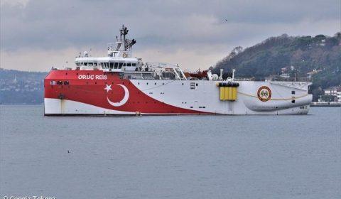 Vas Turcesc In Mediterana