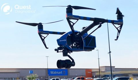 Drone Walmart