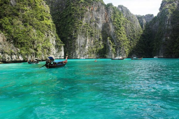 ko phi phi lee, thailand, beaches