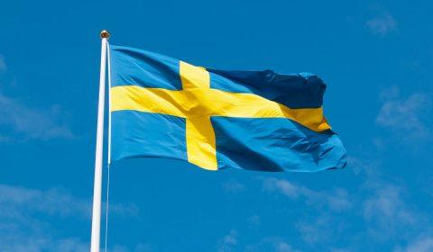 sweden, flag, swedish flag