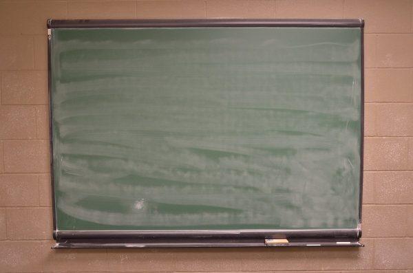 blackboard, chalkboard, whiteboard