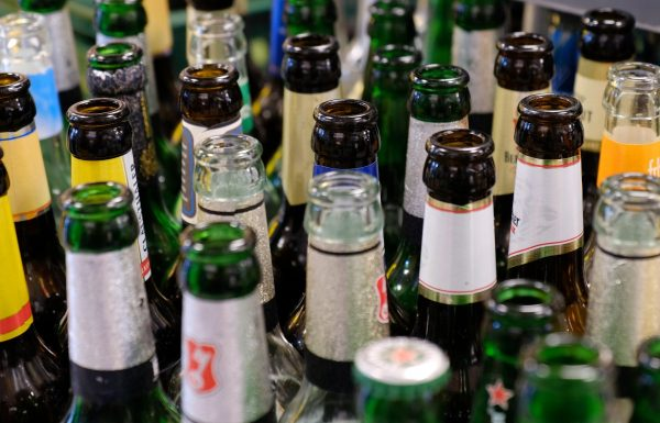 bottles, empties, glass