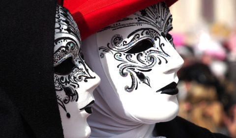 carnival, venice, mask