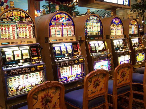 casino, slot machine, gambling