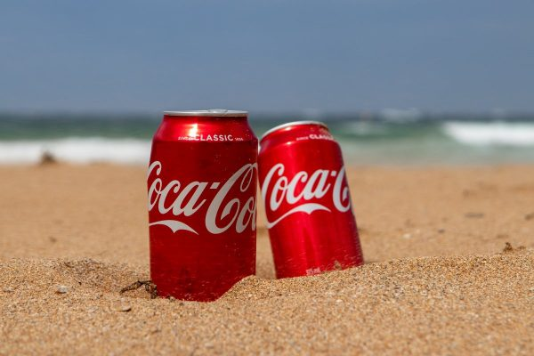 coca cola, beach, summer