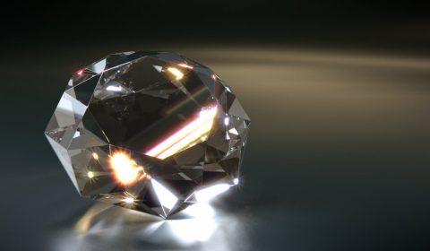 diamond, gem, 3d