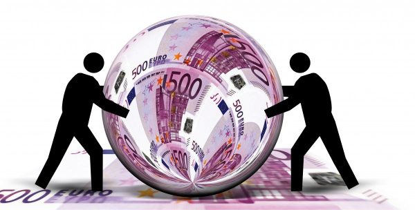 euro, bill, currency