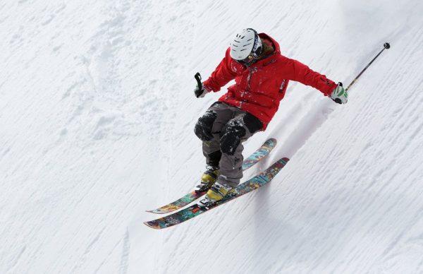freerider, skiing, ski