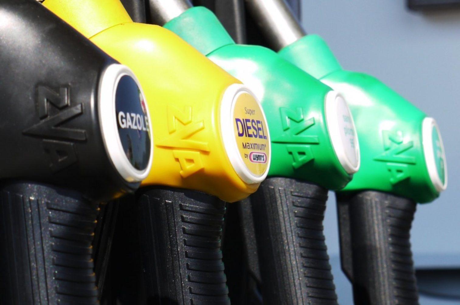 gasoline, diesel, petrol