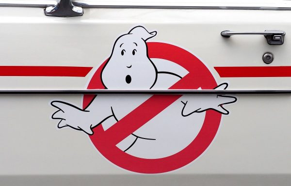 ghostbusters, logo, ecto-1