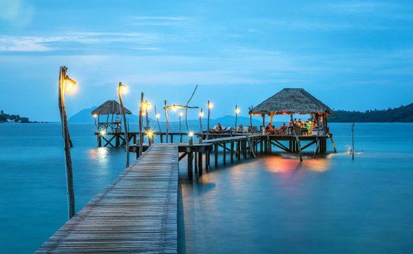 jetty, thailand, ocean