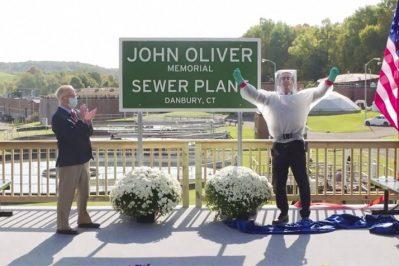 John Oliver Sewage Plant
