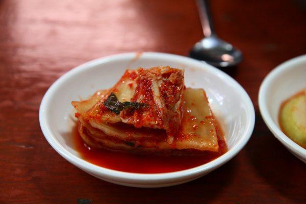 kimchi, baechu kimchi, spicy kimchi