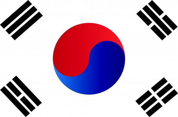 republic of korea, korea, flag